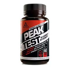 Alpha Peak Test