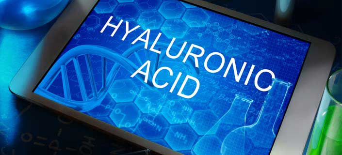 Hyaluronic acid for youthful look