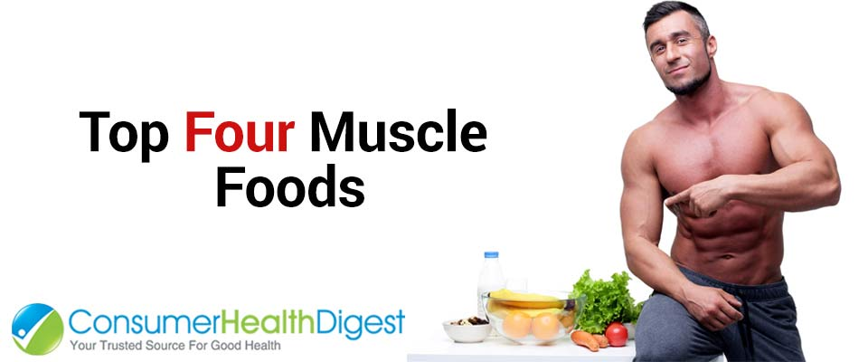 Top Four Muscle Foods by Father Fitness