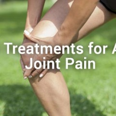 Natural Treatments for Arthritis Joint Pain