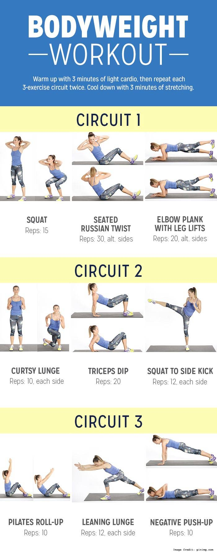 Bodyweight Workouts Info