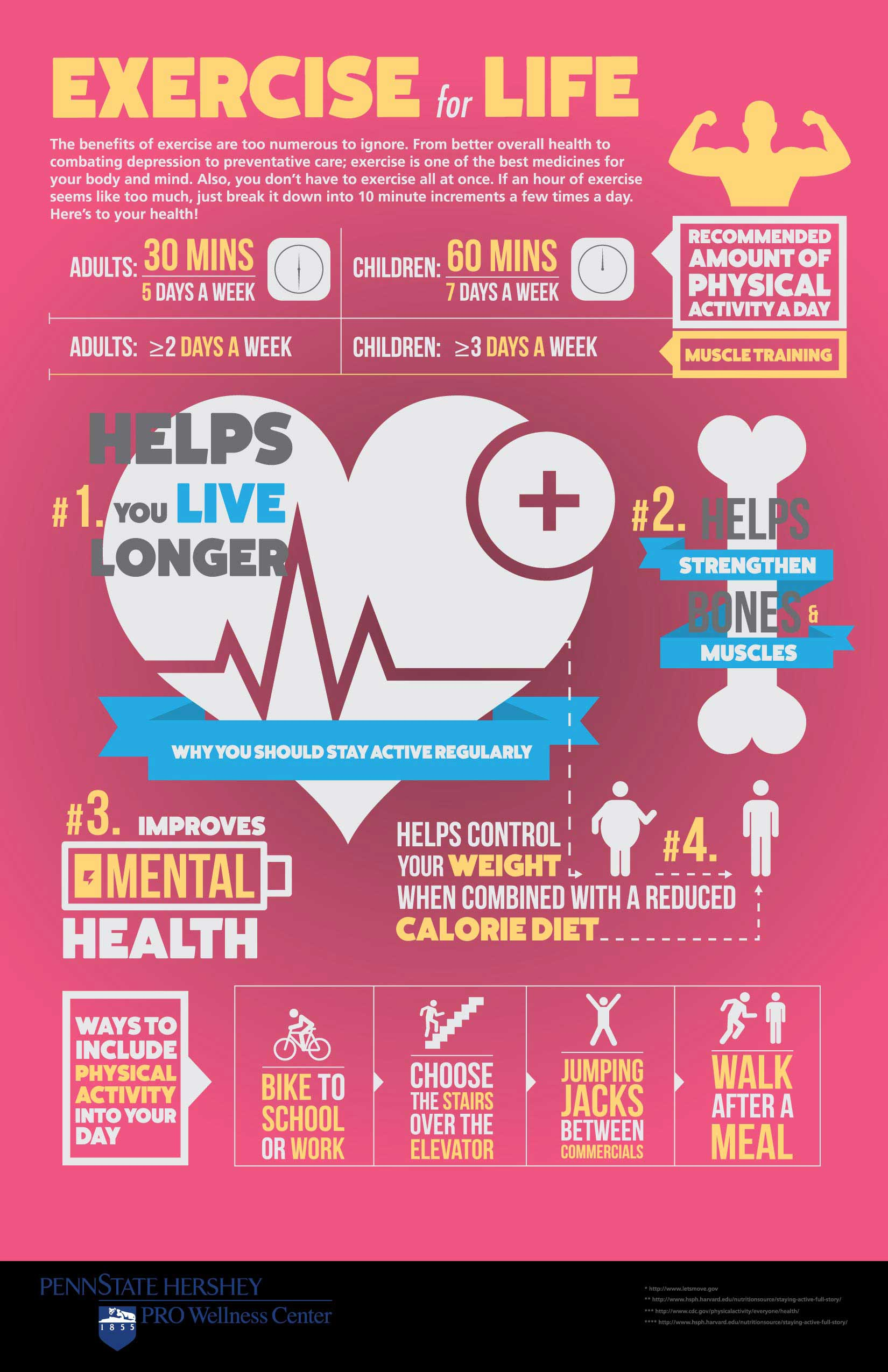 Exercise Daily Info