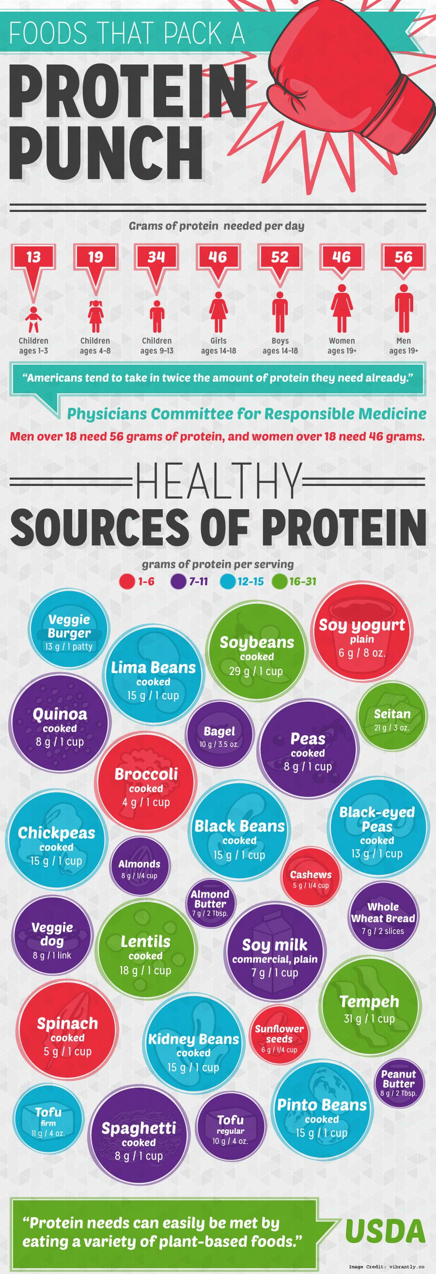 Food Protein Info