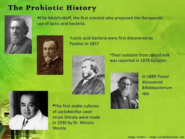 Probiotics History