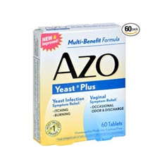 AZO Yeast Plus