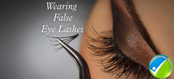 False Eyelashes Extension