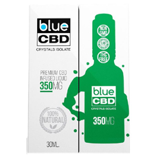 Blue CBD Crystals Isolate 350MG Review