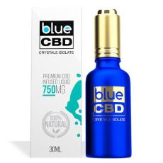 Blue CBD Crystals Isolate 750MG