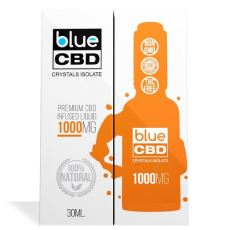 Blue CBD Crystals Isolate 1000 MG