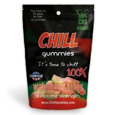 Chill Gummies CBD Watermelon Slices