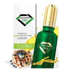 Diamond CBD Blueberry Waffle Oil