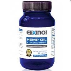 Elixinol CBD Hemp Oil Capsules