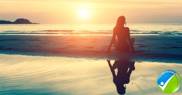 Peaceful the beach
