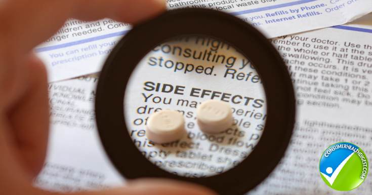 Side effects from medications