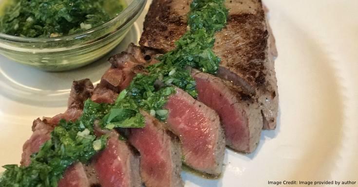 Chimichurri Sirloin Steaks
