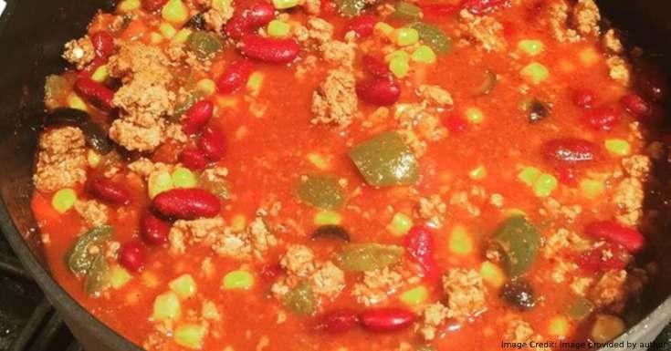 Tasty Turkey Chili