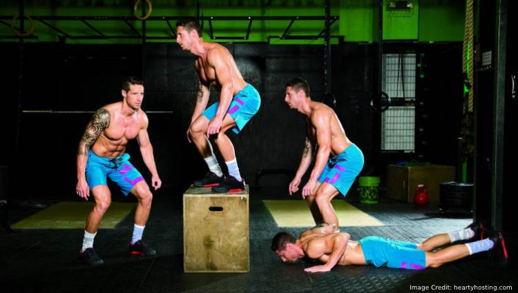 Burpee Box Jumps