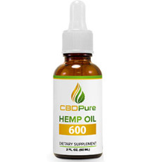 CBD Pure Hemp Oil 600
