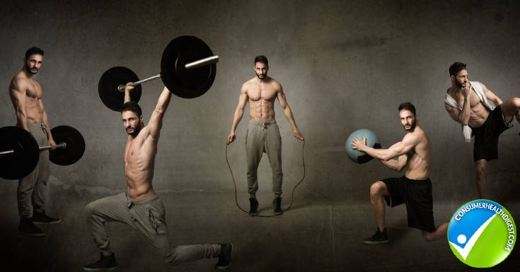 Crossfit workout concept