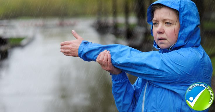 does rain increase arthritis pain
