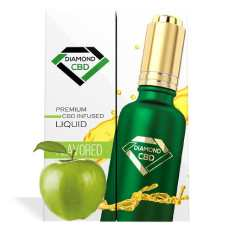 Green Apple Flavor Diamond CBD Oil