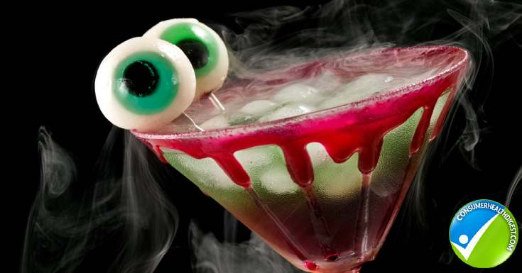 Healthy Halloween Drinks