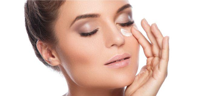 Hydrating eye cream for sensitive eyes