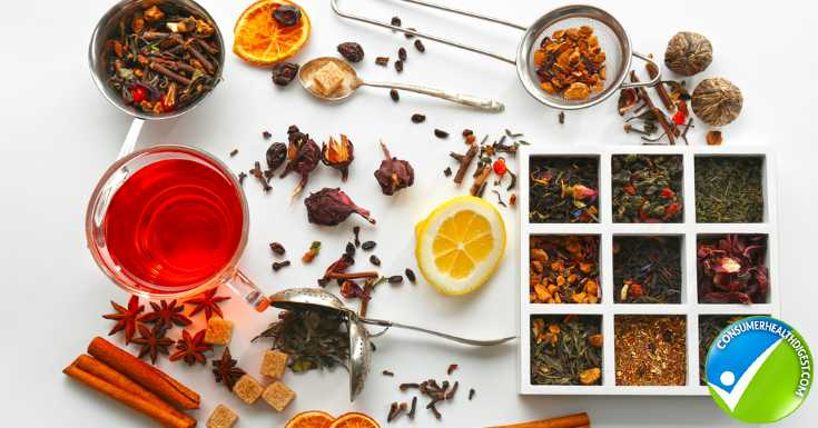 Natural Ingredients in Herbal Tea