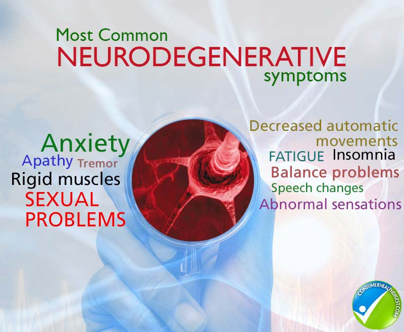 neurodegenrative symptoms