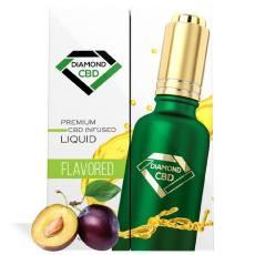 Plum Flavor Diamond CBD Oil