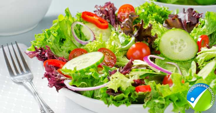 Salad Being Healthier