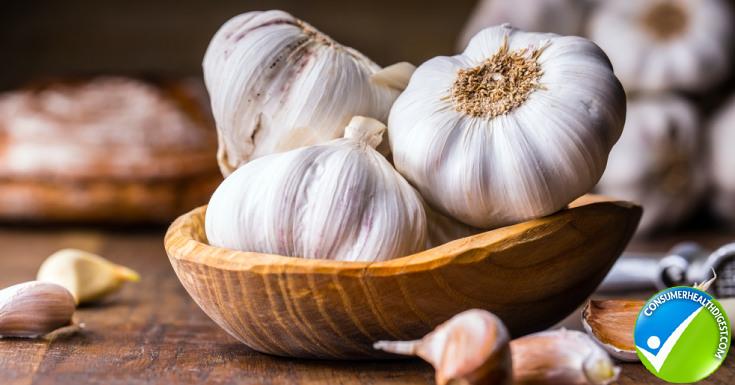 Smear some garlic