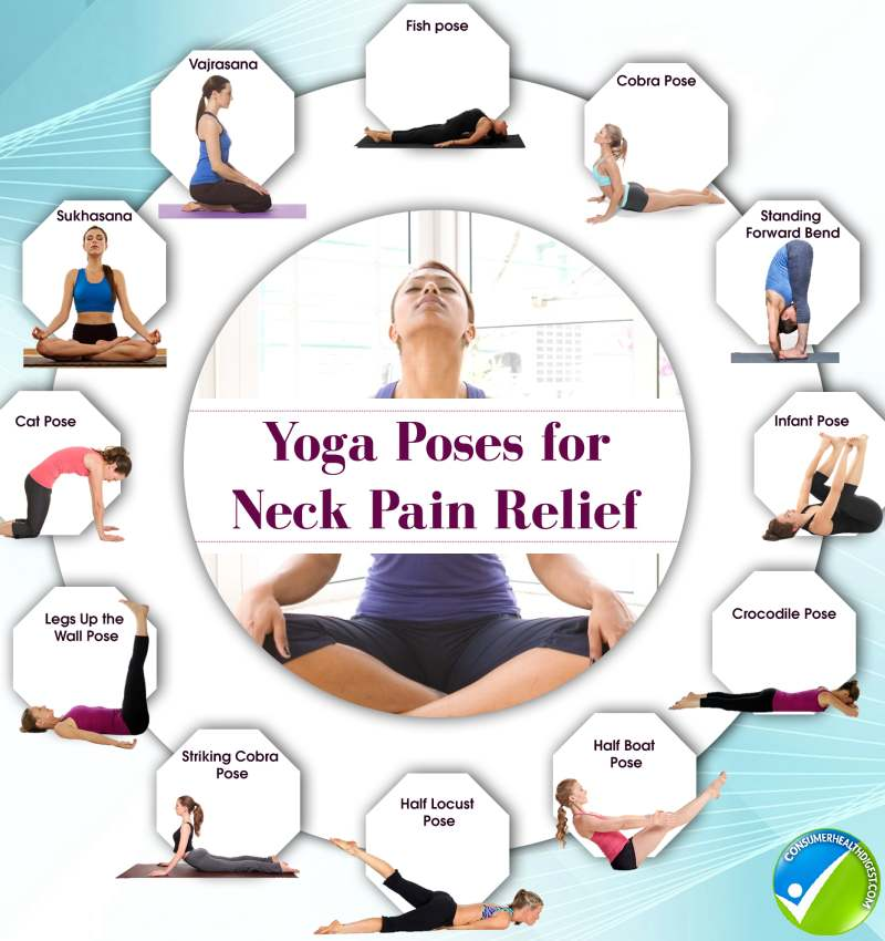 12 Yoga Poses for Neck Pain Relief