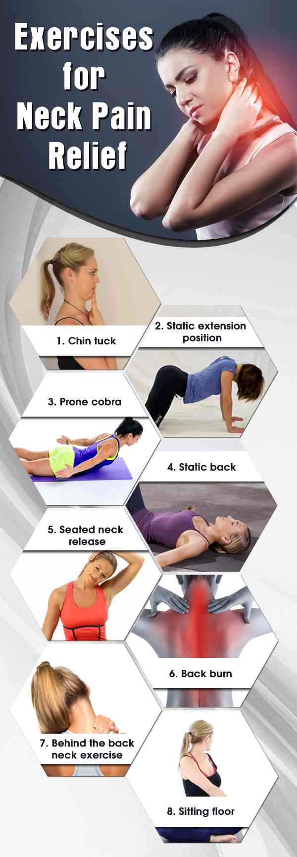 8 _Best Exercise to Eliminate* Neck Pain
