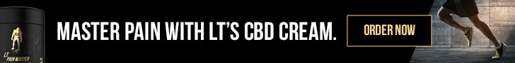 Lawrence Taylor Pain Master CBD Cream