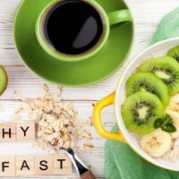 Matcha Green Tea And Chia Seed Porridge