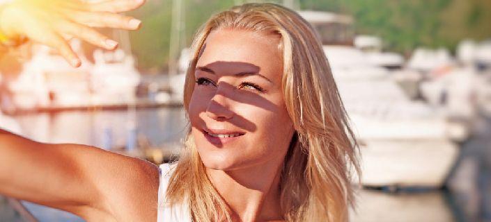 Sun damage to eyes