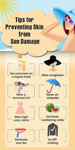 How to Prevent Skin from Sun Damage