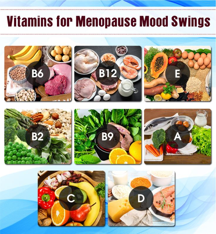 Vitamin for Treatment of Menopause Mood Swings Info