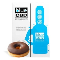 Blue CBD Frosted Donut