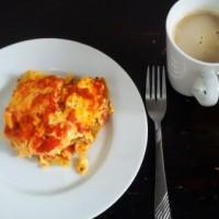 Chickpea Flour Tortilla Lasagna