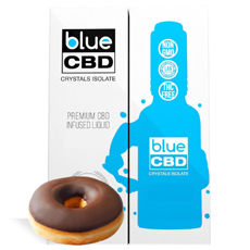 Frosted Donut Blue CBD Crystal Isolate Review