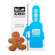 Gingerbread Blue CBD Crystal Isolate Review