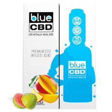 Guava Blue CBD Crystal Review