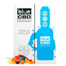 Gummy Bear Blue CBD Crystal Review