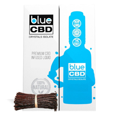 Madagascar Vanilla Blue CBD Crystal Review
