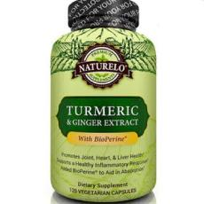 NATURELO Turmeric, Ginger Extract