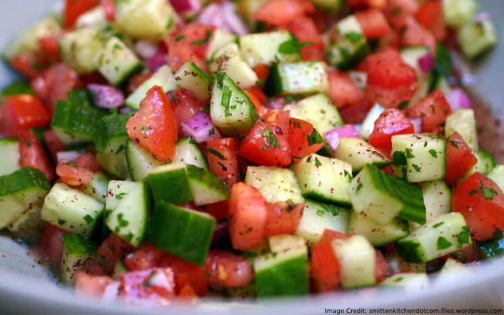 Raw Israeli Salad Recipe