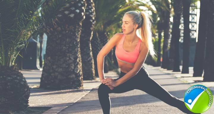 Successful Fitness Model