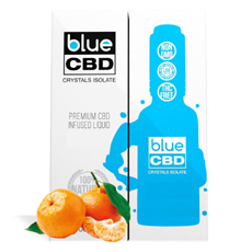 Tangerine Blue CBD Crystal Review